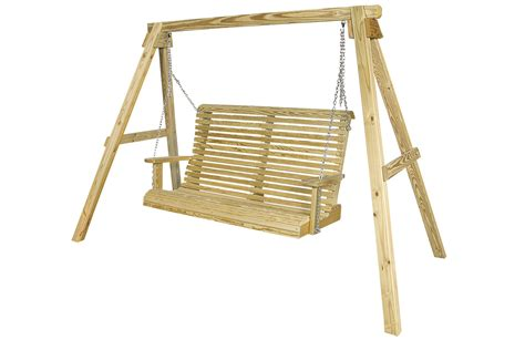 swing back wooden outdoor furniture king tables