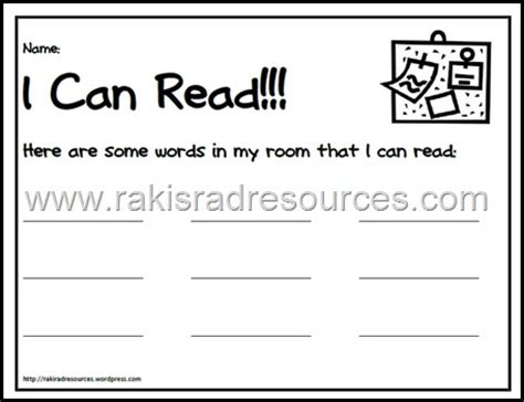 read the room classroom freebies i can read free read the room recording sheet