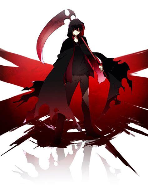 wallpaper anime grim reaper kagerou project kagerou project fan art 36706092 fanpop