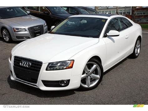 2010 Audi A5 Coupe by Ibis White 2010 Audi A5 2 0t Quattro Coupe Exterior Photo