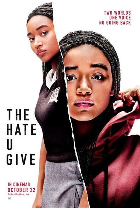 regarder the hate u give la haine qu on donne regarder film en streaming gratuit hd affiche du film the hate u give la haine qu on donne