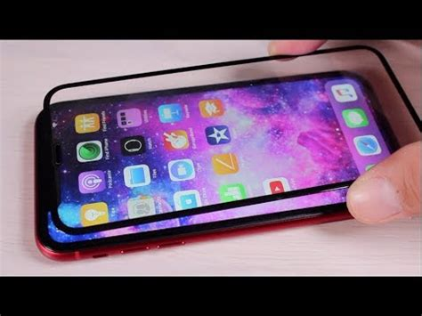official iphone xr tempered glass screen protector friendly installation guide and review