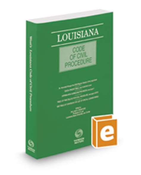 louisiana code of civil procedure 2018 ed books louisiana code of civil procedure 2017 solutions