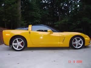 xvon image yellow 2005 corvette for sale