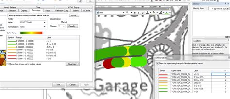 layout view not working arcgis arcgis 10 0 symbol levels for graduated colours not