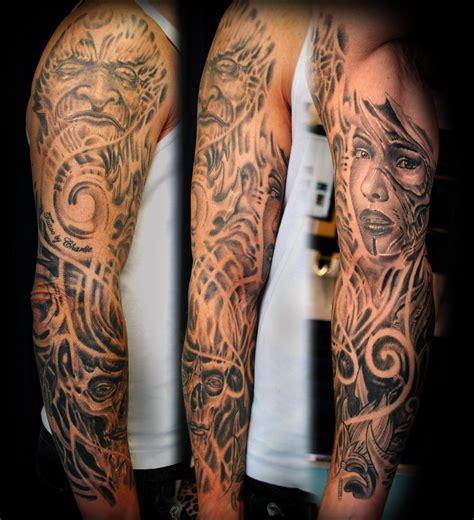 tattoo gallery sleeve sleeve tattoo biomechanic by gettattoo on deviantart