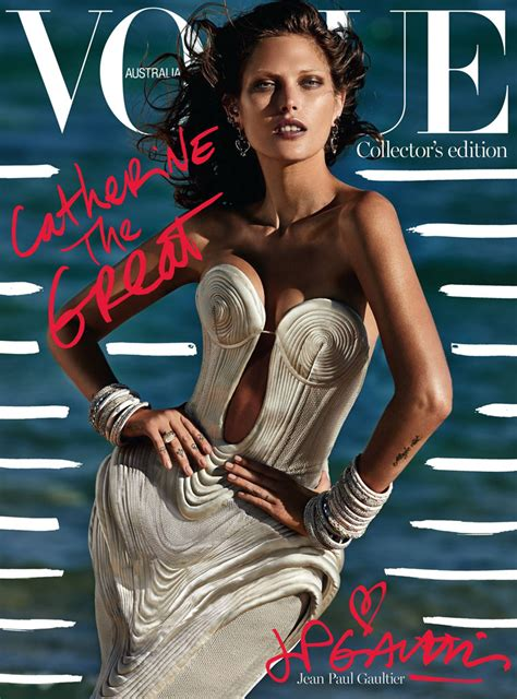 Covers Australia by Catherine Mcneil For Vogue Australia October 2014