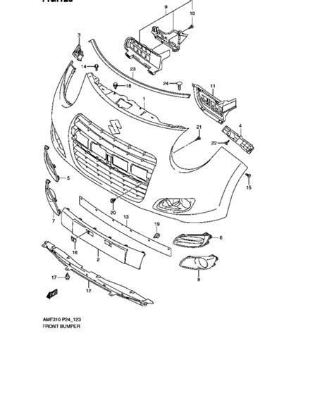 Suzuki Ignis List Bumper Jsl Front Bumper Air Flow Cover Chrome front bumper for 0 suzuki alto a celerio amf310 africa sales region no color code