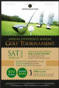 golf tournament program template fundraiser flyer template 35 free psd eps ai format