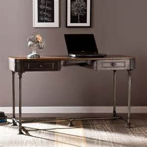 Home Office Writing Desk Edison Industrial Metal Computer Writing Desk Home Office
