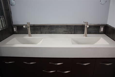 undermount trough bathroom with two faucets undermount trough bathroom with two faucets