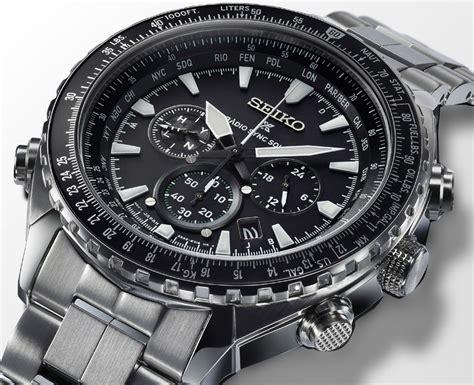 Seiko Quartz Spl031p1 World Timer Alarm Jam Tangan Pria Spl031 seiko prospex radio sync solar world time chronograph ablogtowatch