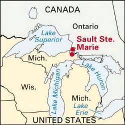 sault sainte canals location encyclopedia