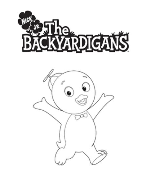 coloring book and the of pablo backyardigans coloring pages