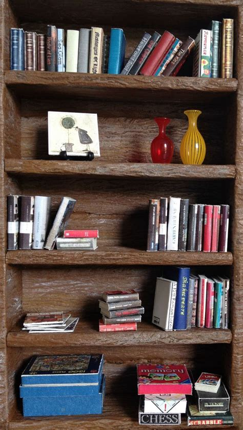 33 best images about dollhouse shelves bookcases on