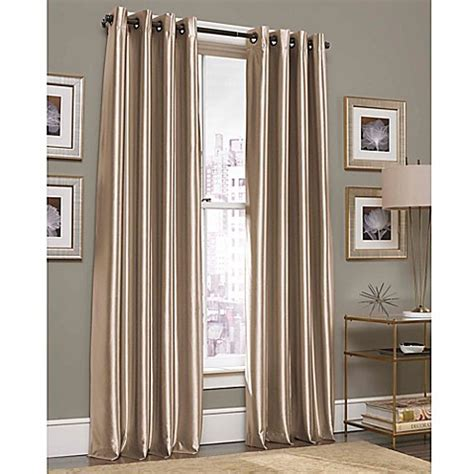 bed bath and beyond clearance curtains gardnera grommet top window curtain panel bed bath beyond