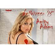 Happy Halloween With Scream Queen Amity Adams