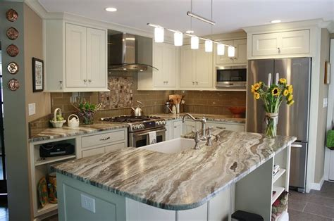 Backsplash Tile For Kitchens by Stone Design Quartzite Fantasy Brown Soft Quartzite