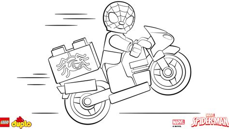 lego spiderman coloring pages to print lego 174 duplo 174 spider man coloring page coloring page
