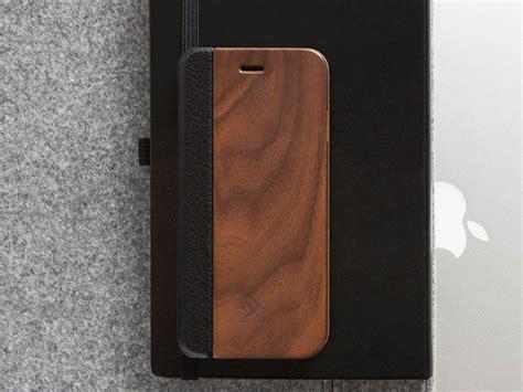 woodcessories ecoflip walnut iphone xs max hoesje