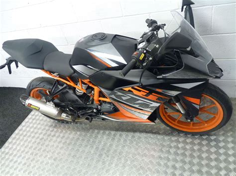 Ktm 125 Sports Bike Ktm Rc 125 2015 Sports Bike Now With Free Akrapovic