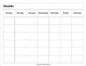 6 week calendar template printable calendar blank template 2016 calendar template