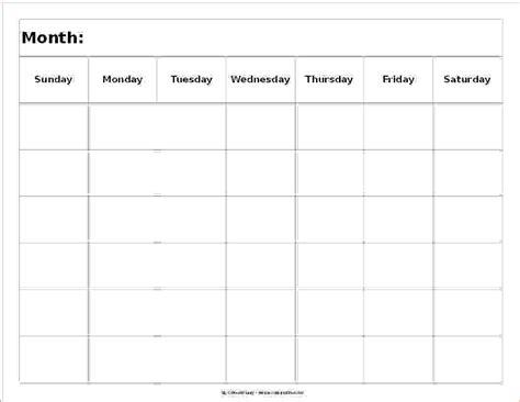 Calendar 6 Weeks Blank 3 Week Calendar Thebandtheband