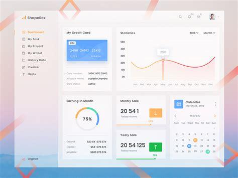 Freebies 20 Admin Dashboard Ui And Cms Psd Templates 2018 Cms Dashboard Templates