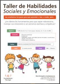 el taller de emociones taller de habilidades sociales y emociones para ni 241 os
