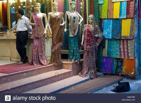 sari clothes shop in city of varanasi benares northern