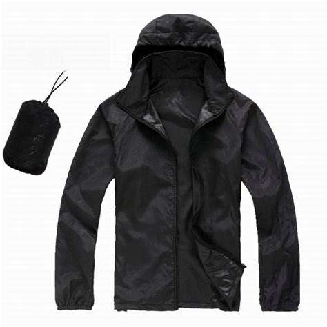 Jaket Hoodie Parasut Running Wind Protector Outdoor Nike Hitam Biru sports jackets for jackets review
