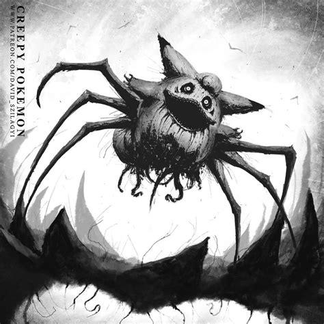 artist reimagined pokemon characters  monsters
