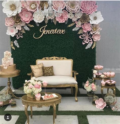 Beautiful Paper Flower Backdrop Wedding Ideas 15 ? OOSILE