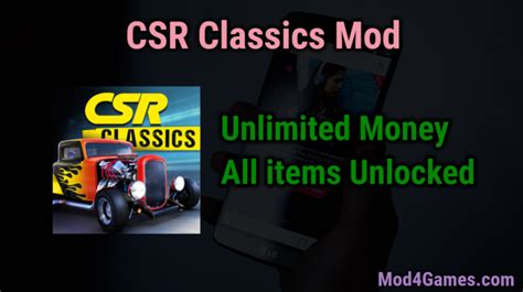 game offline mod apk unlimited csr classics unlimited money game mod apk free with