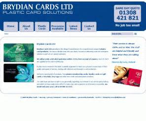 Gift Card Manufacturers Uk - brydianplasticcards co uk brydian plastic cards manufacturer loyalty cards