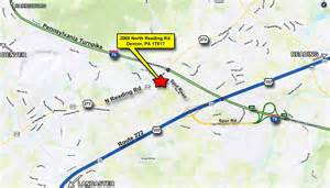 us road map for sale 2 5 acre commercial site in denver pa us commercial realty