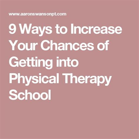 Ways To Improve Your Health Today by Best 25 Physical Therapy Ideas On