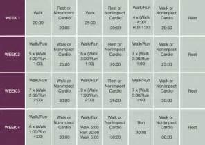 Running to lose weight training plan