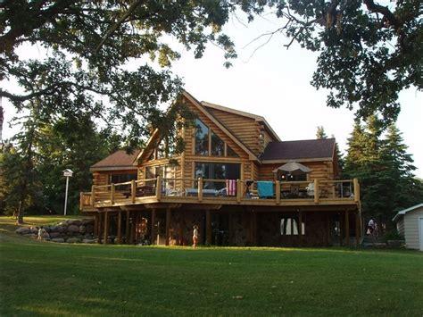 Luxury Cabin Rentals Minnesota by Pelican Lake Luxury Log Cabin Otter Vrbo
