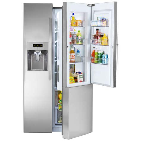 kenmore door refrigerator kenmore 51833 26 1 cu ft side by side refrigerator w