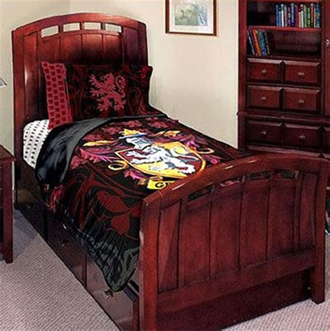 harry potter bedding harry potter gryffindor house twin bedding comforter