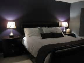 Accent wall grey walls is close to what i have in mind for my bedroom