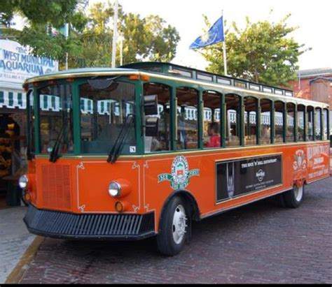 trolley holiday lights tour yuggler christmas light trolley tours of key west