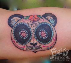 panda tattoo skull cute panda tattoo by jen maw instagram talloola13