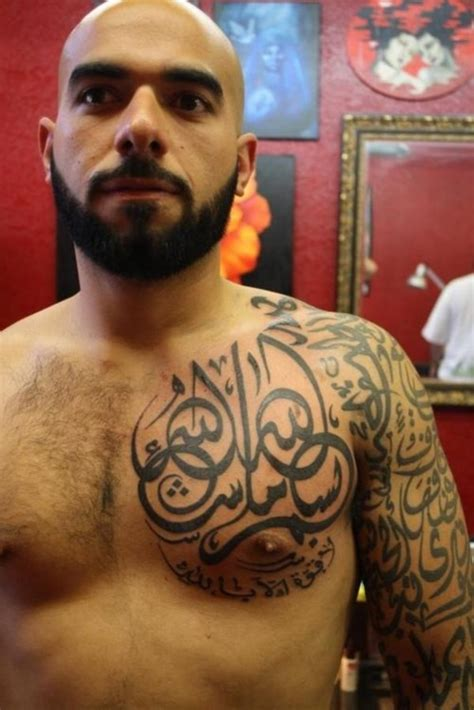 muslim tattoos for men 50 arresting religious sleeves