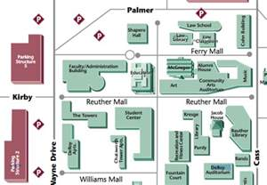 Wayne State University Campus Map by Charm 2015 Conference Local Information