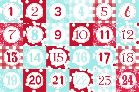 advent calendar printable templates calendar template 2017