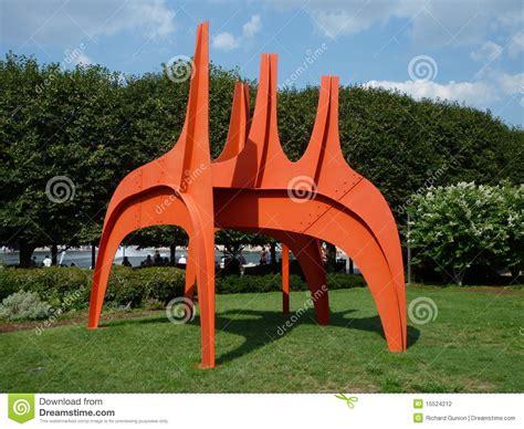 Garden Metal Art Sculptures - alexander calder sculpture editorial photography image 15524212