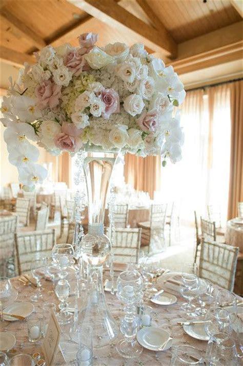 25 best ideas about blush wedding centerpieces on