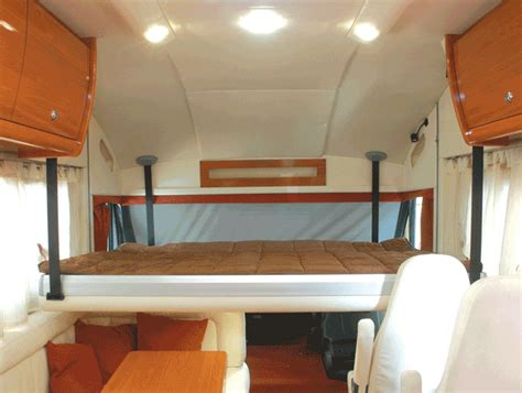 rv bed lift system lippert components 174 to distribute over cab bed lift system